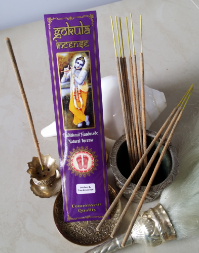 Amber & Frankincense  Incense Sticks - 20 grams